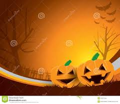 spooky halloween background free scary halloween background with a wooden sign stock vector