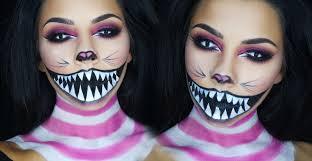 Halloween Barbie Makeup by Cheshire Cat Halloween Makeup Tutorial Tinakpromua Youtube