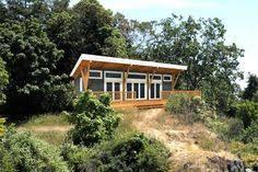 linwood homes finch cabin plan 648 sq ft casita pinterest