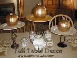 fall table decor a moms take loversiq