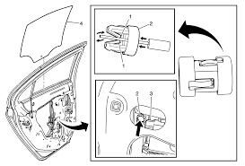 repair instructions rear side door window replacement 2014