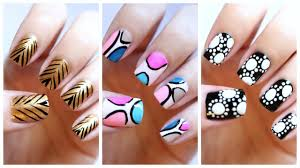 easy nail art for beginners 19 jennyclairefox youtube