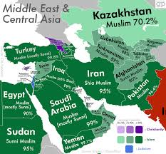 Religions Of The World Map by These Are The Most Religious Places In The World And What They U0027re