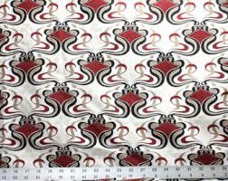 Home Decor Fabric Sale Black U0026 White Flocked Velvet Home Decor Fabric Classic Filigree