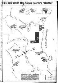 Seattle Demographics Map by Racial Restrictive Covenants
