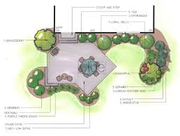simple landscape design plans 13 landscaping design plan plan view