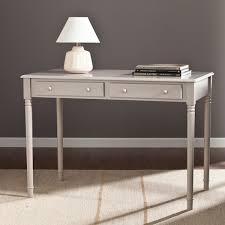 harper blvd grisham 2 drawer writing desk gray free shipping