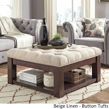 Large Storage Ottoman Coffee Table by Ottoman And Coffee Table U2013 Viraliaz Co