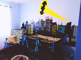 Nursery Room Theme Bedroom Batman Bedroom For Cool Boy Bedroom Decor Ideas