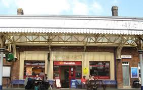 Taunton railway station