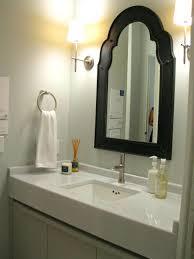 bathroom cabinets large framed bathroom mirrors home depot