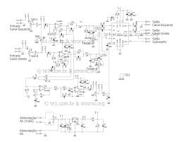 home theater circuit diagram circuit power audio amplifier with tda7377 2 1 xtronic
