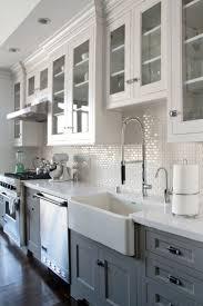 Kitchen Ideas With White Cabinets Best 10 Dark Cabinets White Backsplash Ideas On Pinterest White