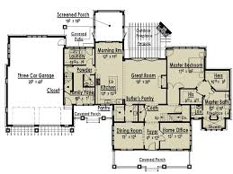 One Level Home Plans One Level House Plans With Two Master Suites Arts Bedroom And