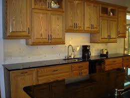 Cottage Kitchen Backsplash Ideas Kitchen Kitchen Backsplash Ideas With Dark Oak Cabinets Subway