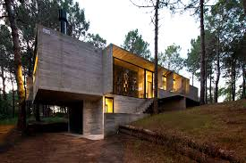 Modern Concrete Home Plans And Designs 190 Sqm Four Bedroom Exposed Concrete House Design Architecture