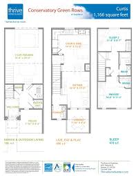 Builders Floor Plans Curtis Home Plan By Thrive Home Builders In Conservatory Green