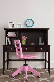 Bedroom Furniture Espresso Finish Pink Rolling Desk Chair Craft Bedroom Furniture
