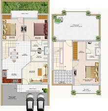 bedroom house plan in india admirable duplex floor plans designs