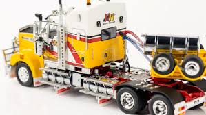 kenworth truck models kenworth t909 prime mover drake 2x8 dolly 4x8 swing trailer andys