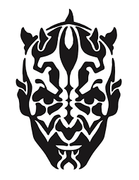 darth maul makeup stencil mugeek vidalondon