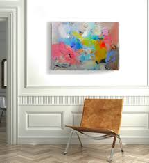 abstract home decor wall art on canvas original abstract acrylic painting large