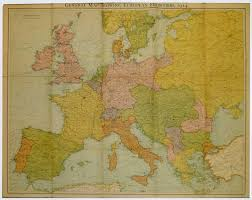 Map Of 1914 Europe by The