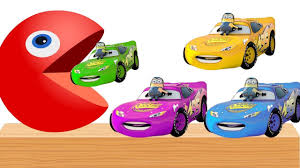 cars 3 lightning mcqueen coloring page baby learning colors with