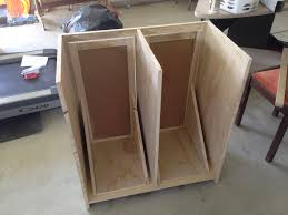 a tilt out garbage and recycling cabinet u2013 diy already