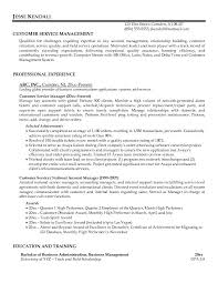 Customer Service On Resume  examples of key skills in resume     Customer Service Manager Resume Examples   customer service on resume