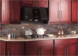 Download Kitchen Backsplash Cherry Cabinets Black Counter - Kitchen backsplash ideas dark cherry cabinets