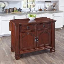 Distressed Black Kitchen Island by Home Styles Monarch White Kitchen Island With Drop Leaf 5020 94
