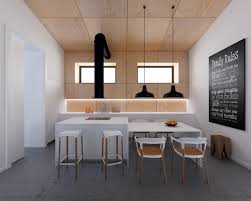 cool industrial white and wood kitchen ideas with table and chairs