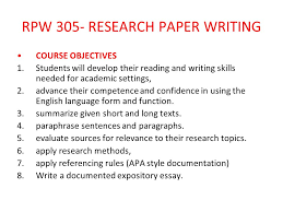How to write an academic paper apa style Carpinteria Rural Friedrich