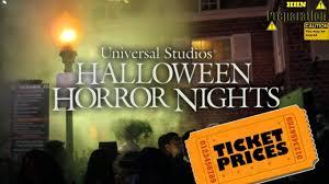 halloween horror nights 2016 passholder all tickets for halloween horror nights 2017 youtube