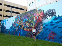 downtown hollywood technicolor artwalk artscalendar com downtown hollywood technicolor artwalk seaworthy mural