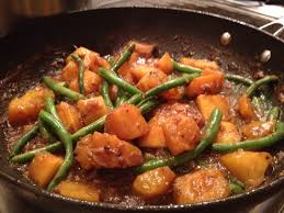 filipino thanksgiving recipes filipino at home chicken adobo and squash and string beans in