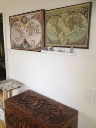 World Map Pinboard by Big U201d17 Th Century U201d Worldmap Pinboard King