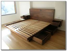Twin Size Platform Bed With Storage Plans by Best 25 Farmhouse Bed Frames Ideas On Pinterest King Size Frame