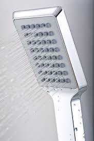 aston dual function and diveter shower panel with four body jets