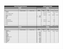 Sample Home Budget Spreadsheet Template U Sample Business Monthly Vosvetenet Business Example