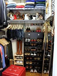 Space Saving Closet Ideas With A Dressing Table Broom And Utility Closet Organization Hgtv