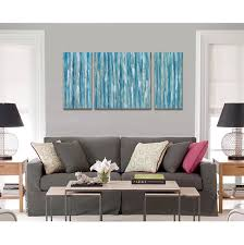 Art On Walls Home Decorating by Amazon Com Blue Abstract Modern Prints On Canvas Artwork Cubism