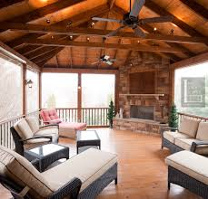 Exposed Beam Ceiling Living Room by Porch Ceiling Beams The Porch Companythe Porch Company