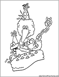 sesame street elmo coloring pages az with st and birthday