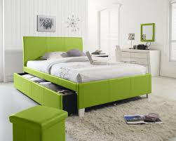 Vanity Dresser Bedroom Awesome Lime Green Upholstered Queen Bed With Green Cube