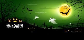 scary moon background halloween creepy scary horror pumpkins bats graveyard full moon