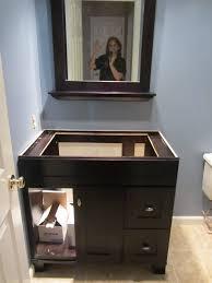 Lowes Bathroom Ideas by Bathroom Lowes Bathroom Remodel With Dark Wood Vanity And Framed