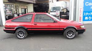 toyota corolla twin cam coupe ae86 for sale japan car on track