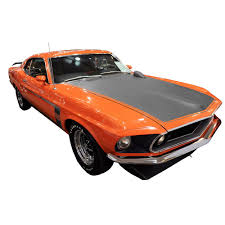 Mustang Boss 302 Black Mustang Graphic Express Side And Trunk Stripe Decal Kit Boss 302